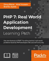 PHP 7: Real World Application Development Front Cover